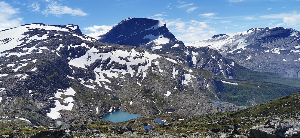 Majestetiske Gjegnen /Blånibba 1670 moh