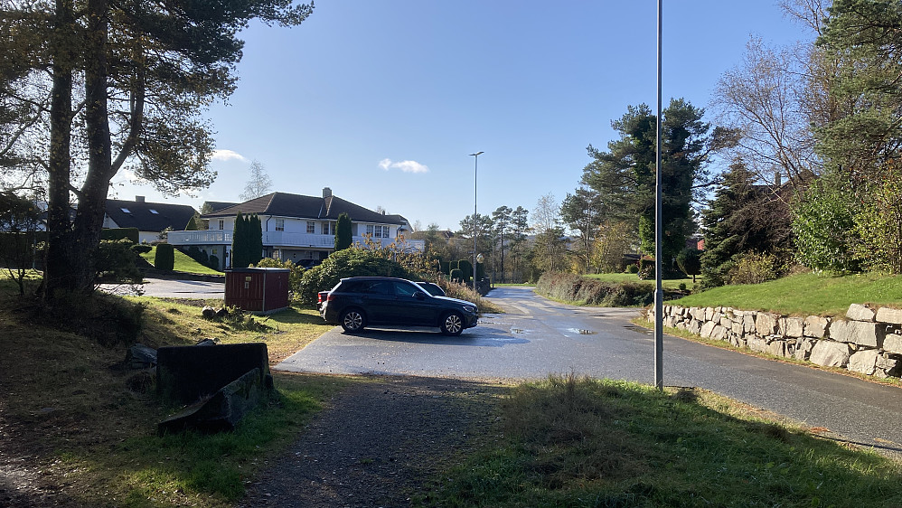 Parkering Ørnehaugen
