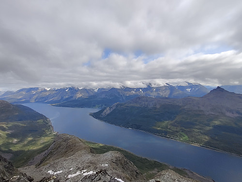Sørfjord fra Sieidi