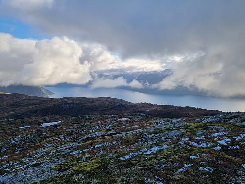 Fra Mullurdfjellet mot Sognefjorden