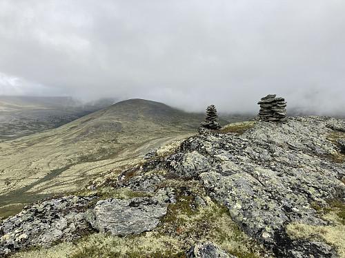 Toppen av Storrvassberget er nådd:)