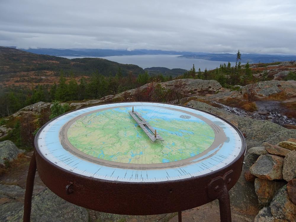 Utsikt mot Trondheimsfjorden